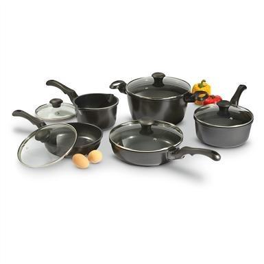 10-Pc. Heritage Artisan Cookware Set