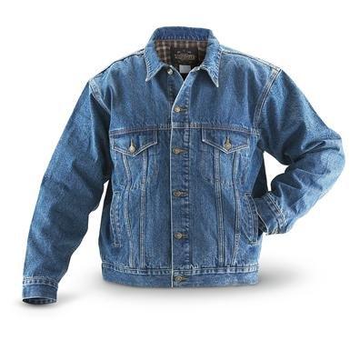 Guide Gear® Flannel-lined Denim Jacket