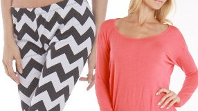 Knits and Leggings by La Class