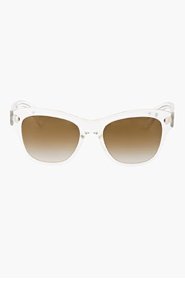OLIVER PEOPLES Clear BRONZE FLASH SOFEE sunglasses for women