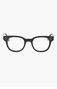 OLIVER PEOPLES Matte black AFTON glasses for women