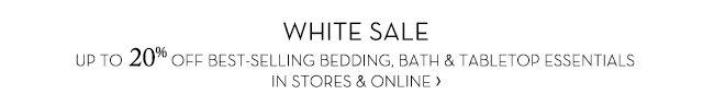 WHITE SALE »