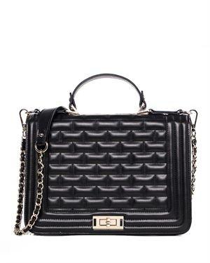 Chancebanda Embossed Leather Shoulder Bag
