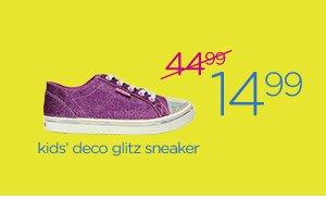 kids' deco glitz sneaker