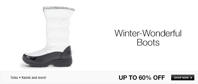 Winter-Wonderful Boots