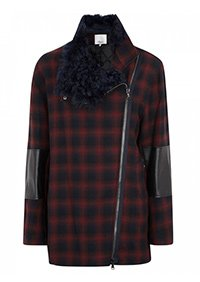Shearling and leather coat, Was £1,030 Now £515 3.1 Phillip Lim
