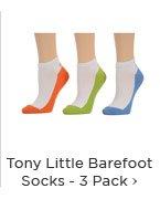 Tony Little Barefoot Socks - 3 Pack