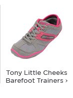 Tony Little Cheeks Barefoot Trainers