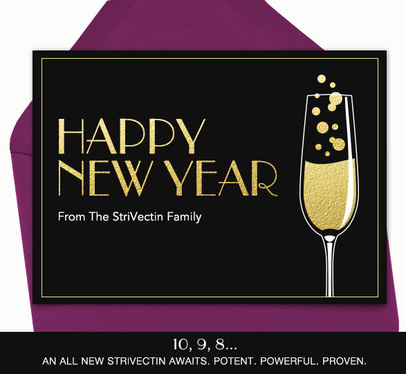 Happy New Year from the StriVectin family
