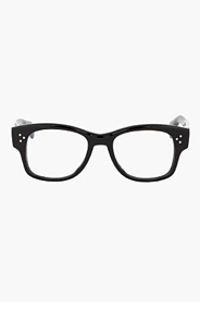 OLIVER PEOPLES Black JANNSSON glasses for men