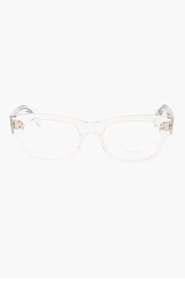 OLIVER PEOPLES Clear Bradford glasses for men