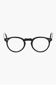 OLIVER PEOPLES Black GREGORY PECK glasses for men