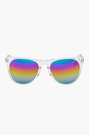 OLIVER PEOPLES Crystal rainbow Braverman Sunglasses & Box set for men