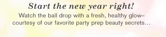 Start the new year right!