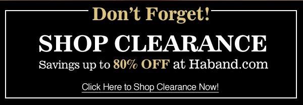 Shop Clearance!