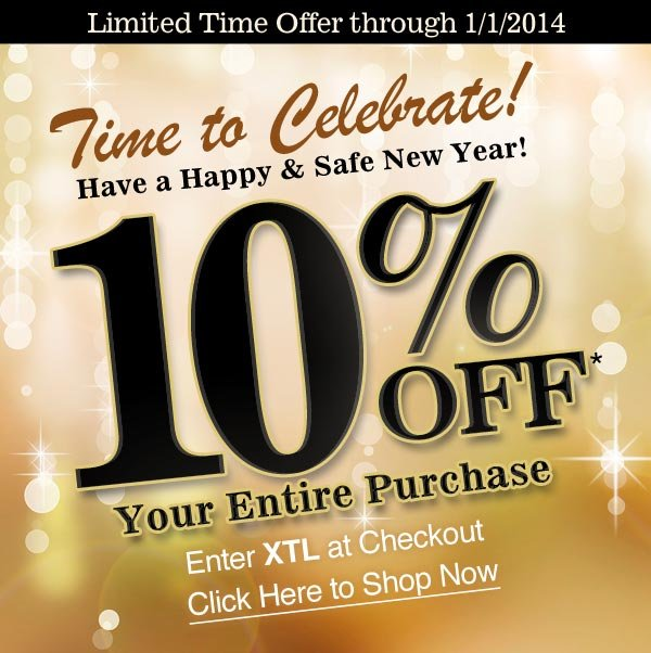 10% OFF* Your Purchase!
