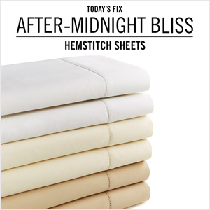 Hemstitch Sheets