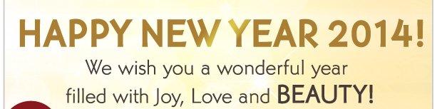 HAPPY NEW YEAR 2014!