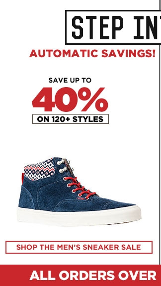 Save on Mens Sneakers