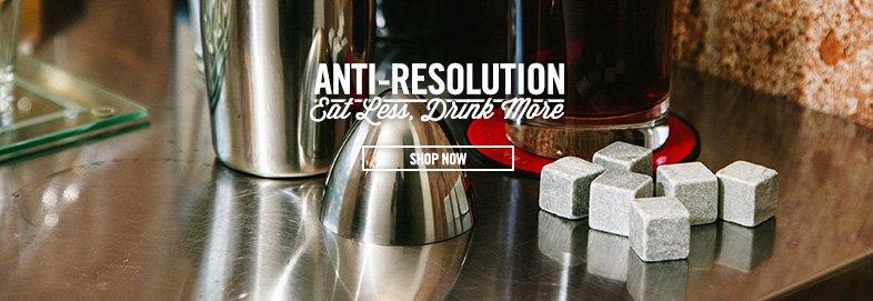 Shop Eat Less, Drink More