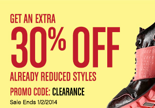 GET AN EXTRA 30% OFF ALREADY REDUCED STYLES