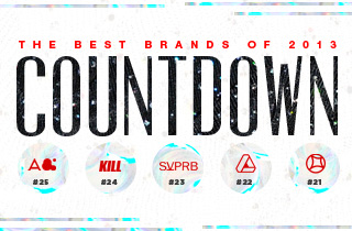 Countdown Brands #21 -  #25