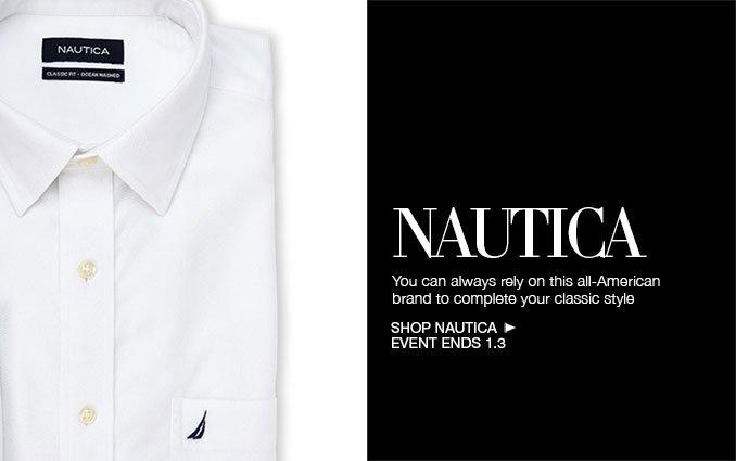 Shop Nautica Dress Shirts for Men