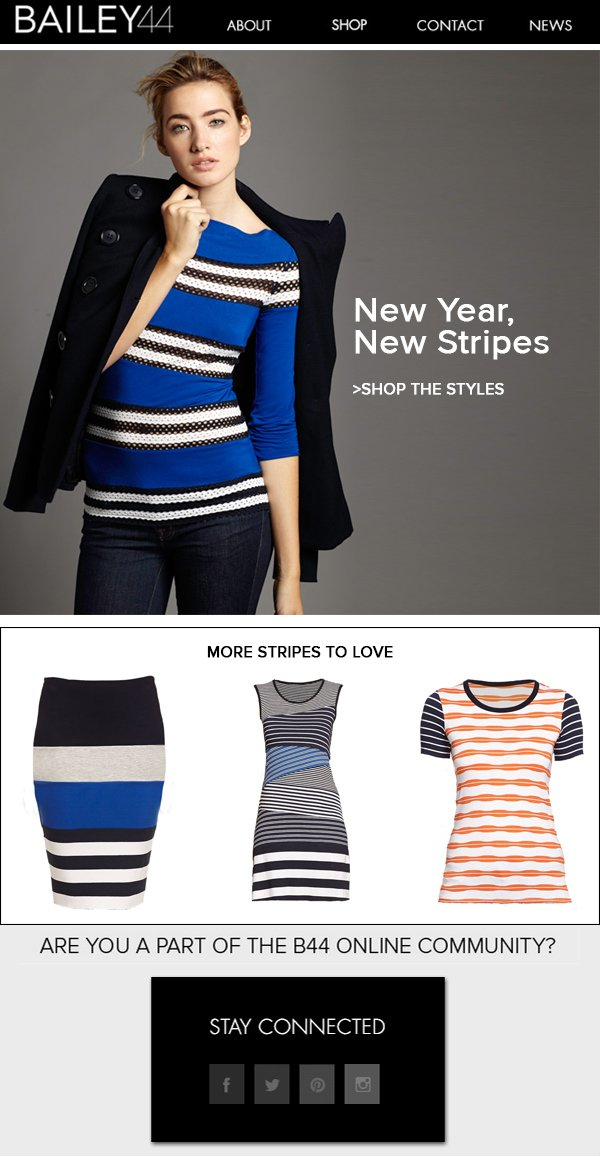 NEW YEAR, NEW STRIPES