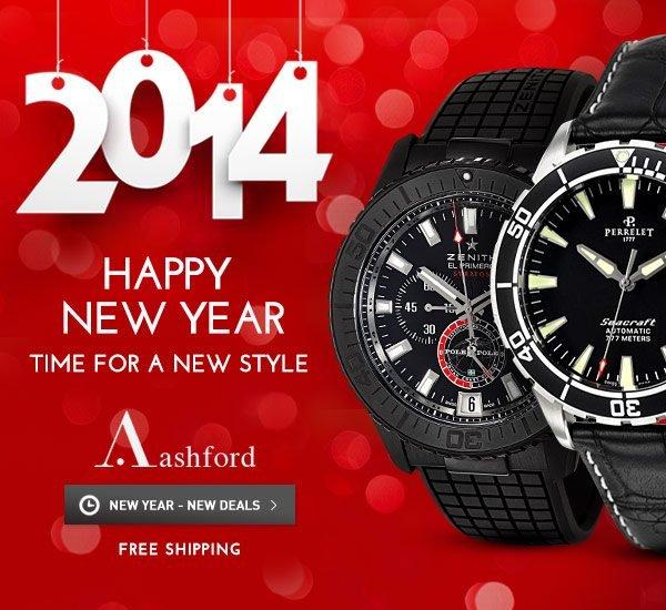 New Years Deals at Ashford.com!