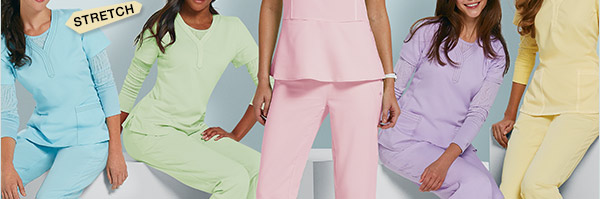 Exclusively ours - new styles and colors for spring!