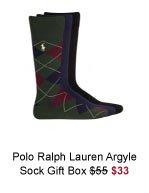 Polo Ralph Lauren Argyle Sock Gift Box was $55 now $33