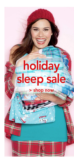 Shop Holiday Sleep Sale