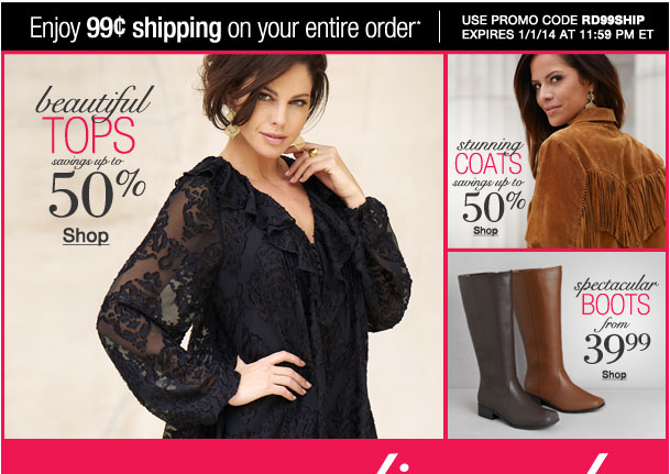 Season ending Sale! Enjoy $0.99 shipping on your entire order! Use RD99SHIP
