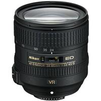 Adorama - Nikon 24-85mm f/3.5-4.5G ED AF-S VR Nikkor Lens - Refurbished