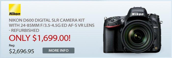 Adorama - Nikon D600