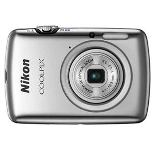 Adorama - Nikon Coolpix S01 10.1 Megapixel Digital Camera - Refurbished