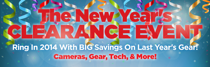 The New Year Clearance Event!