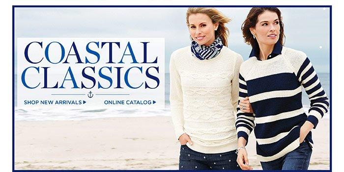 Coastal Classics. Shop new arrivals. Online catalog.