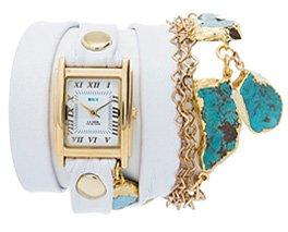 Durango Turquoise Stones Wrap Watch
