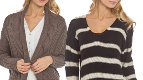 Knits & Sweaters Up to 80% Off