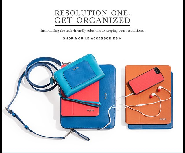 Resolution One - Get Organized - Shop Mobile Accessories