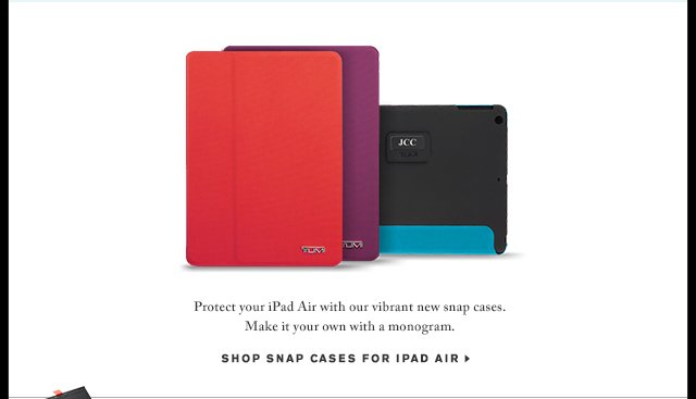 Shop Snap Cases For iPad Air - Shop Now