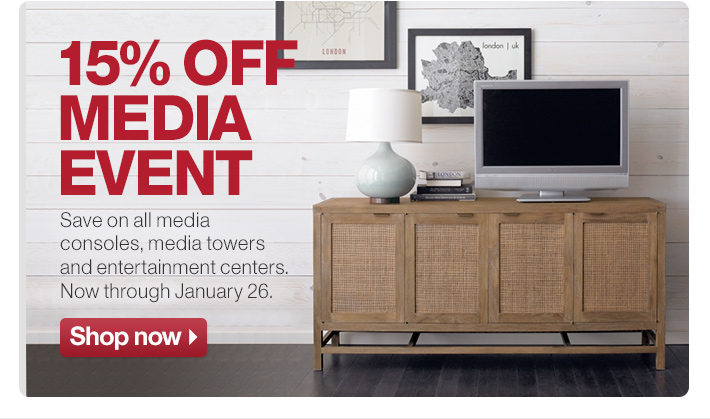 15% off Media Event