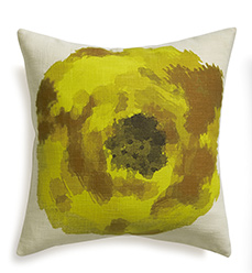 Blossom Yellow 18in Pillow