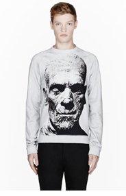CHRISTOPHER KANE Grey 'The Mummy' Print Crewneck Sweatshirt for men