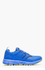 STRADA Blue Mesh Corsa Sneakers for men