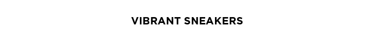 Vibrant Sneakers