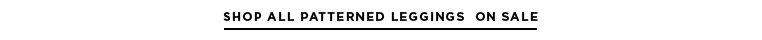 Shop All Patterned Leggings On Sale