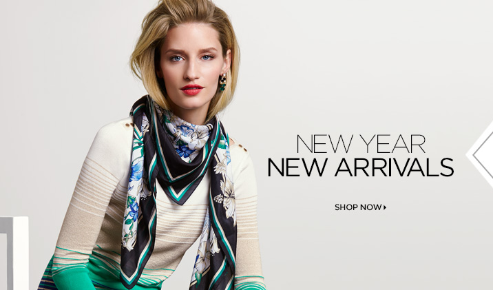 New year, new arrivals. Shop Now»