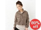 Dual-Pocket Buttoned Jacket
